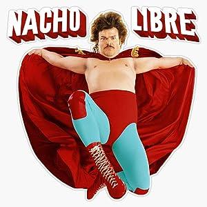 "TCT Trading Nacho Libre Sticker Vinyl Stickers Waterproof Decal Car, Laptop, Bumper Stickers 5"""