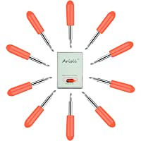 Blades for Cricut Explore Air 2,10 Pieces 45 Degree Cutting Replacement Blades for Cricut Explore Air/Air 2 Maker Expression Vinyl Cutting Machines By Arisll