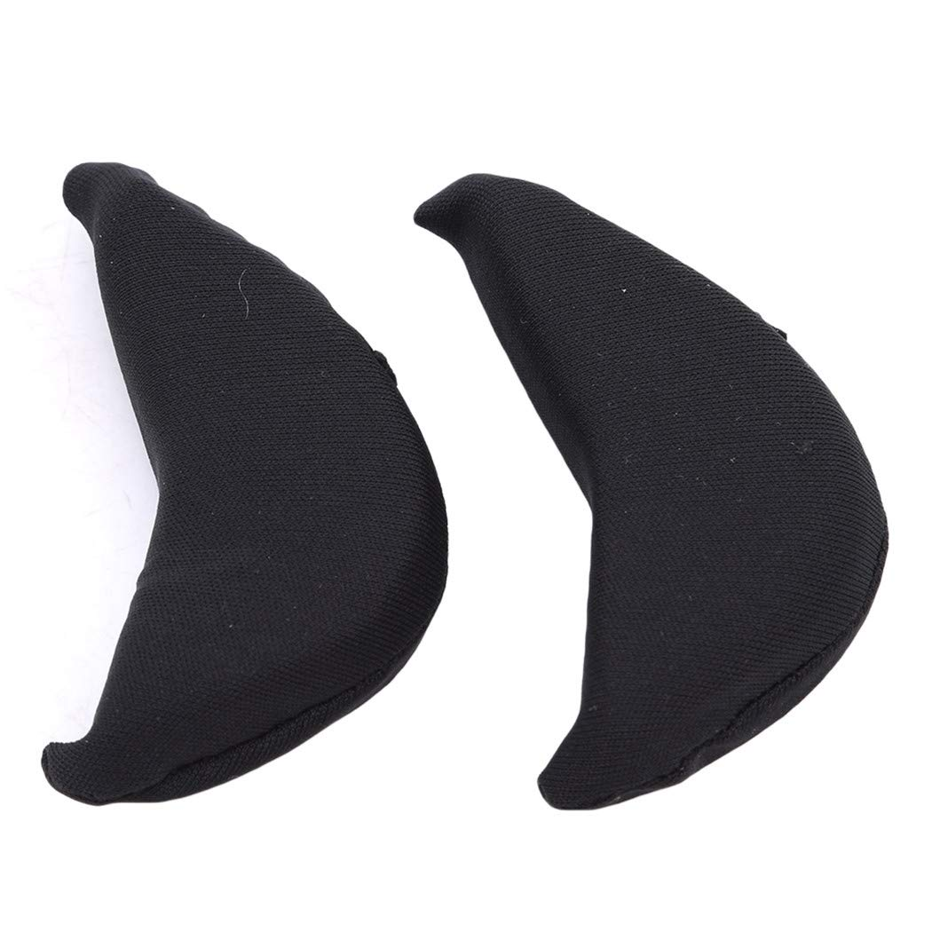 LIUCM Protection High Heel Head Cushion Sponge Plug Forefoot Half Cushion Anti-Pain Shoes Toe Filling Top Fit Supplies 2 Pcs