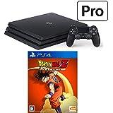 PlayStation 4 Pro  + ドラゴンボール Z KAKAROT セット (ジェット・ブラック) (CUH-7200BB01)【特典】オリジナルカスタムテーマ(配信)