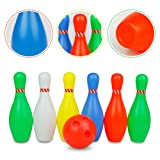 Big Bowling Pins Outdoor Indoor Toys Fun Plastic
