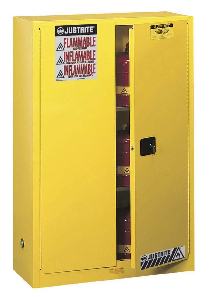 Fire Safe Cabinets Amazoncom Justrite Sure Grip Ex Safety Cabinet For Flammable