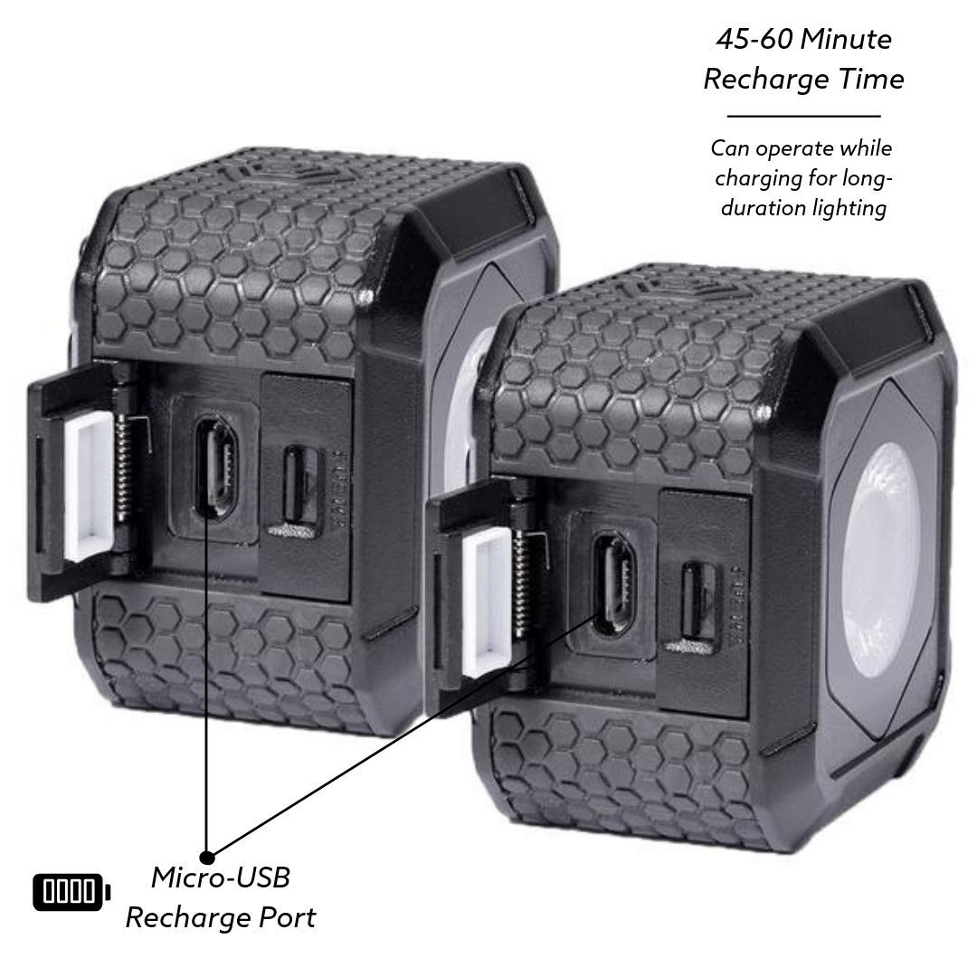 Lume Cube AIR LED Light for Photo, Video & Content Creation - Two Pack by LUME CUBE (Image #3)