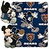 disney chicago bears - Northwest Chicago Bears NFL Mickey Mouse with Throw Combo