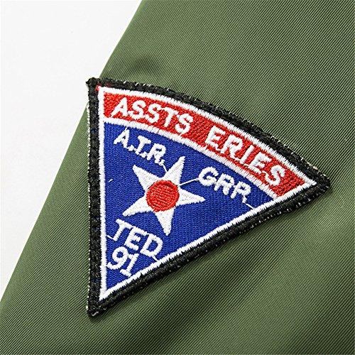 Air Manteaux B8902 Classique Bomber Blousons 16 Jacket Flight Coat Couleur Ma1 Force Xs Homme armygreen Aviateur 4xl Yyzyy Vol Pilot Veste qWX4tSn