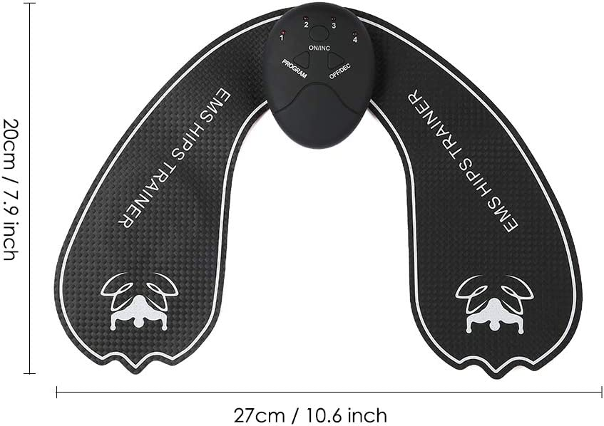 Hip Trainer Electric Vibration Muscle Stimulator Body Relaxation Pad Household Hip Massager