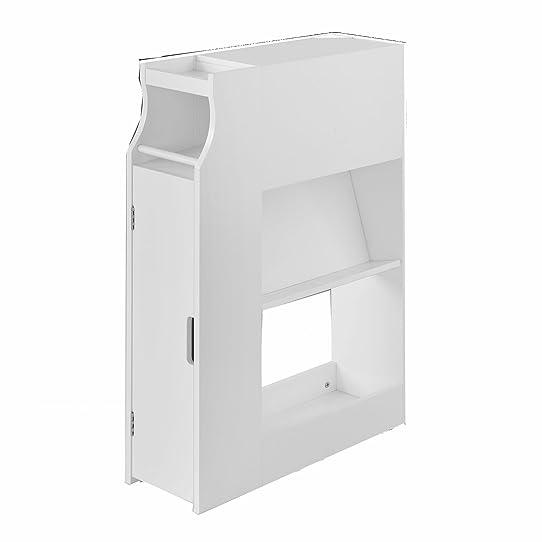 Sobuy® Frg52-W Meuble De Rangement Armoire Wc Pour Papier Toilette