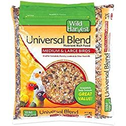 Wild Harvest A1204 Wh Daily Blend Univ Med/Lg Bird 3# Bag