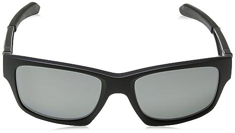 2fdc710af2 Amazon.com  Oakley Jupiter Squared Men s Polarized Lifestyle Sports  Sunglasses Eyewear - Matte Black Black Iridium One Size Fits All  Oakley   Clothing