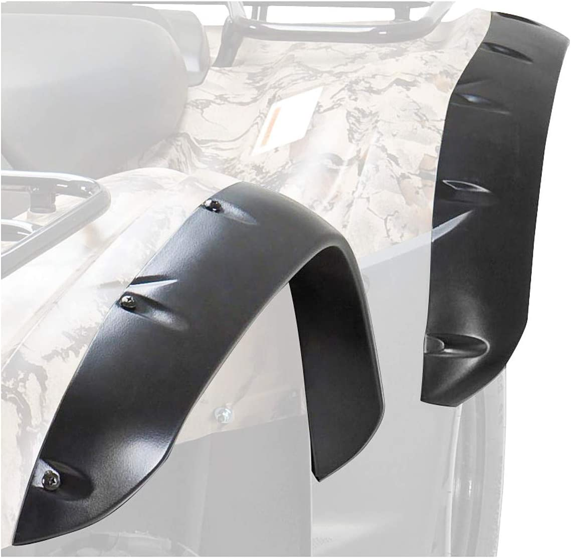 Maier Mfg Fender Flares Textured Black 49207-20