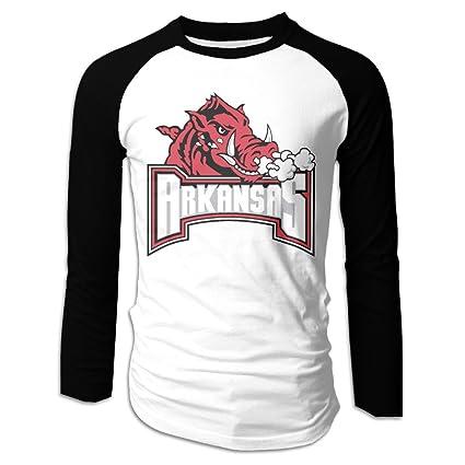 check out 25e45 d7d69 Amazon.com: Creamfly Mens University Of Arkansas Razorbacks ...