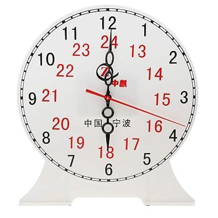 Amazon.com: Flameer 9.45'' Children Teaching Clock Learn How ...