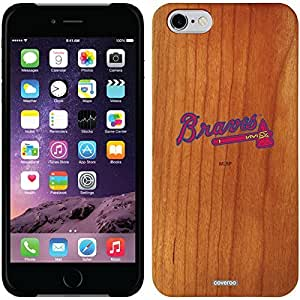 fashion case iphone 4s Madera Wood Thinshield Case with Atlanta Braves Braves Design