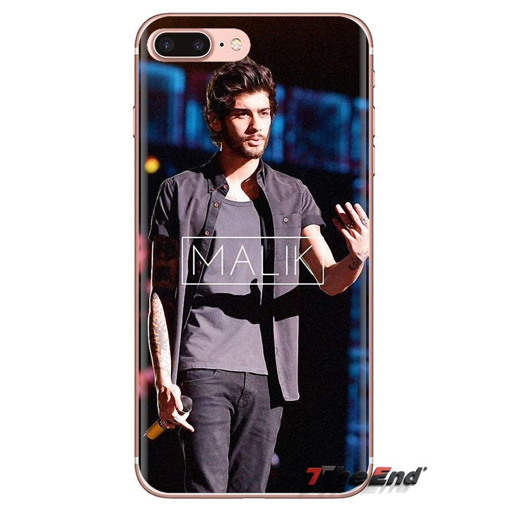 Swift Clean 33058099171 Inspired by Zayn Malik Phone Case Compatible With Iphone 7 XR 6s Plus 6 X 8 9 Cases XS Max Clear Iphones Cases TPU Swift From Dusk