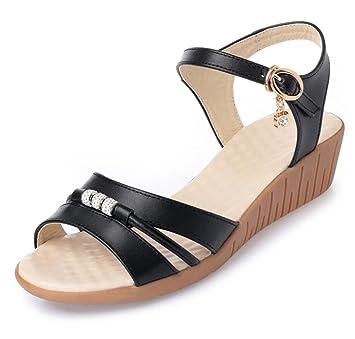 Perfekt Damen Schuhe schwarzer B Well Halbschuh 057.1661.7.1