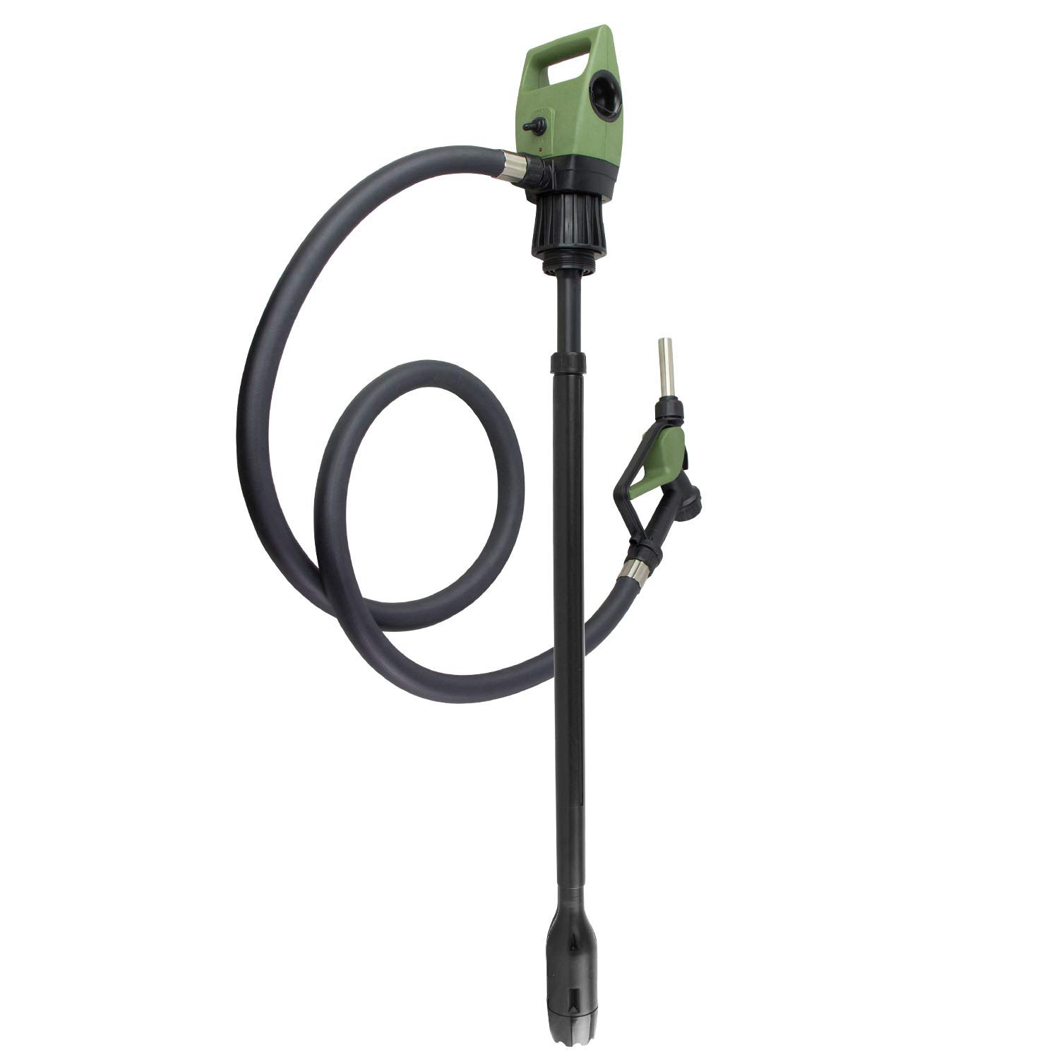 TERA PUMP TReDRUM 33.5'' Standard Plug-in Electric Drum Barrel Pump for DEF, Diesel, Water(NOT for Drinking Water/Gasoline/Flammable Liquids/Concentrated Acids)