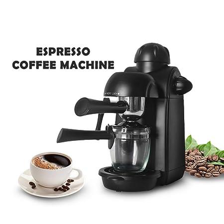 Cafetera italiana de cappuccino con máquina de café de ...