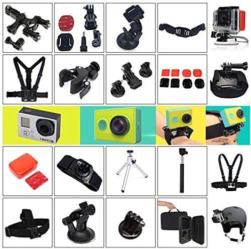 15 In 1 Outdoor Accessories Set Kit With Carry Bag For GoPro Hero 2 3 3 Plus 4 Xiaomi Yi Camera SJ4000 SJ5000 SJcam
