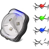 LUCORB Drone Strobe Lights, FAA Anti-Collision Lights for Drone Night Flight, 4 Colors Drone Led Strobe with Battery…