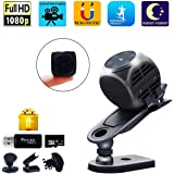 Spy Camera Wireless Hidden Gupacido Hidden Camera Mini Camera With 32GB TF Card/ Card Reader