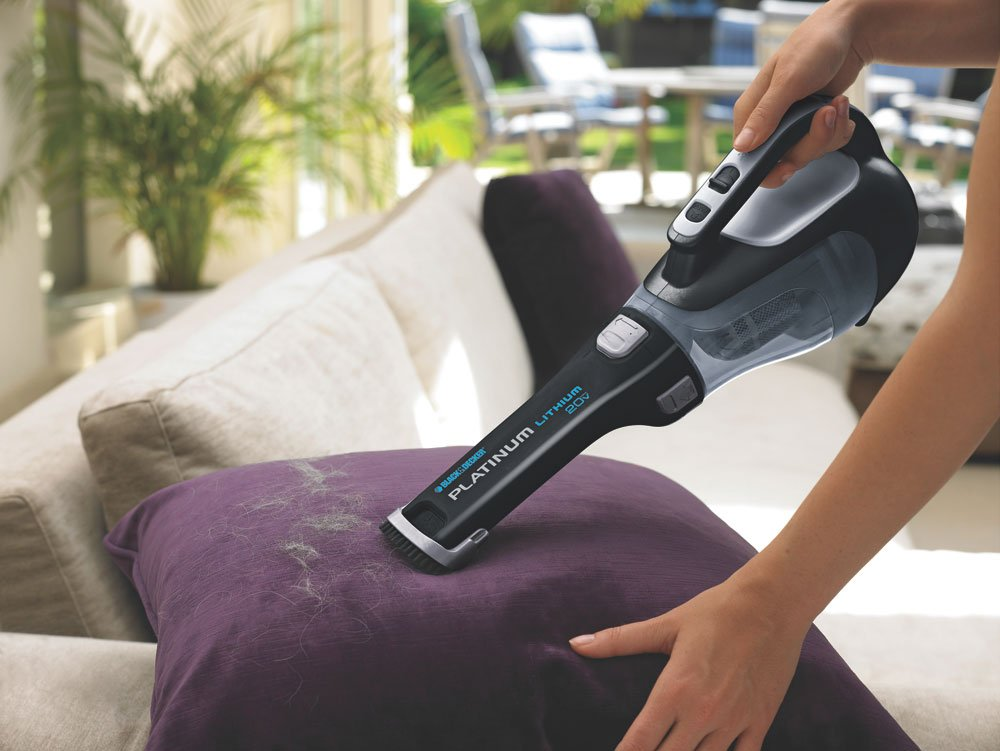 $60 (was $197) BLACK + DECKER Platinum BDH2000L 20-Volt Max Lithium Ion Cordless Hand Vacuum