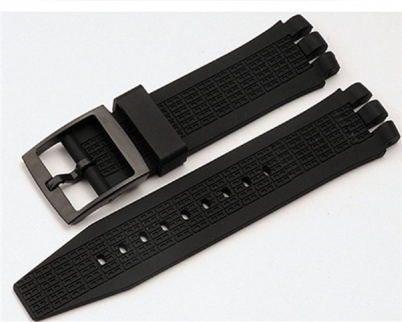 21 mm見本交換用スポーツ時計バンドシリコンゴム腕時計ストラップ防水  B07BRT3CVC