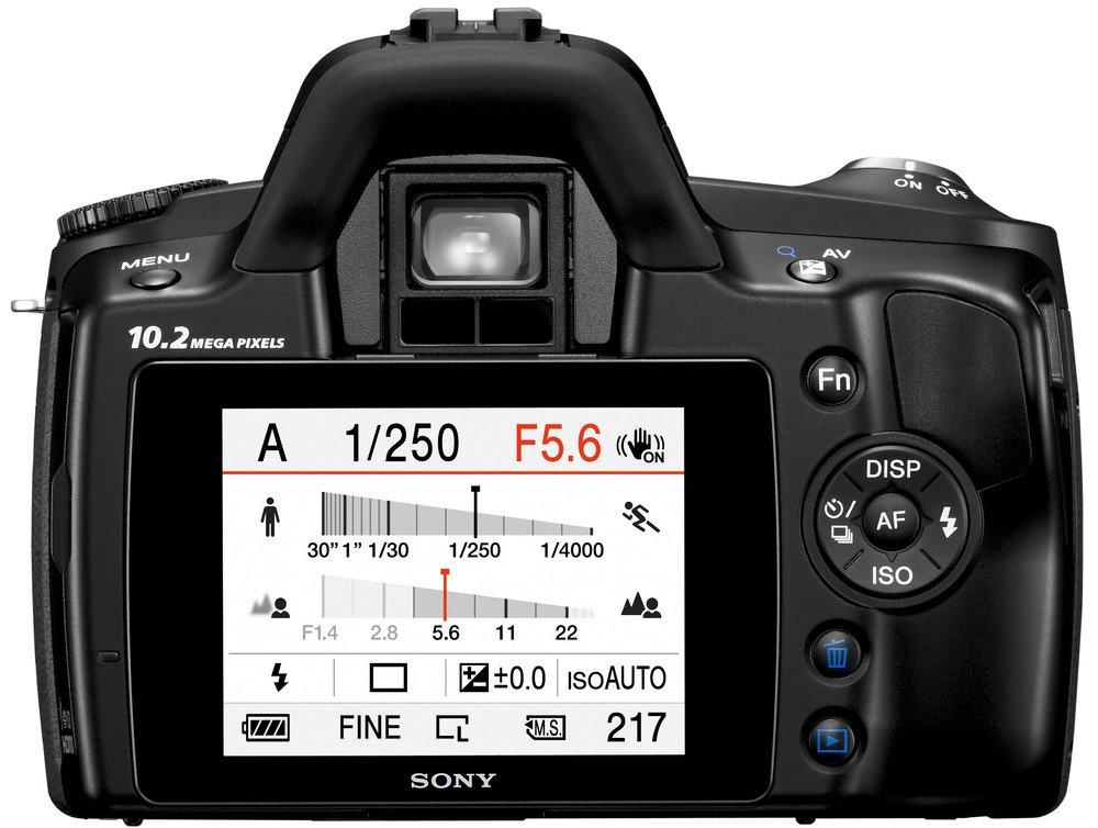 Sony a (Alpha) D-A230 - Cámara Réflex Digital 10.2 MP (Cuerpo ...