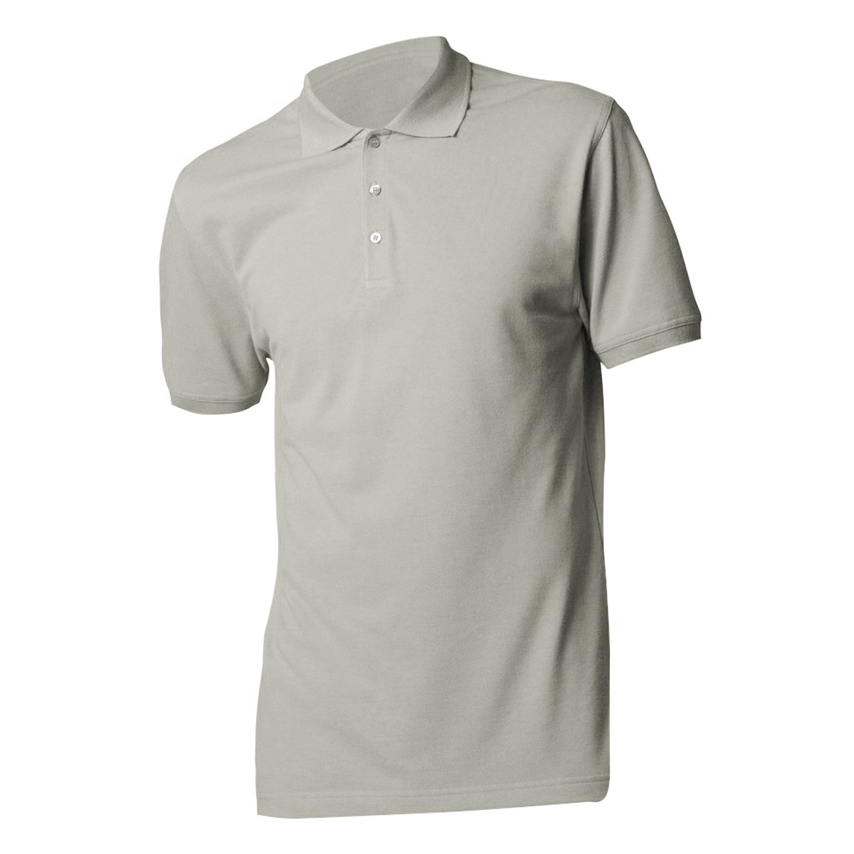 Kustom Kit Mens Slim Fit Short Sleeve Polo Shirt (M) (Light Grey) UTBC3236_11