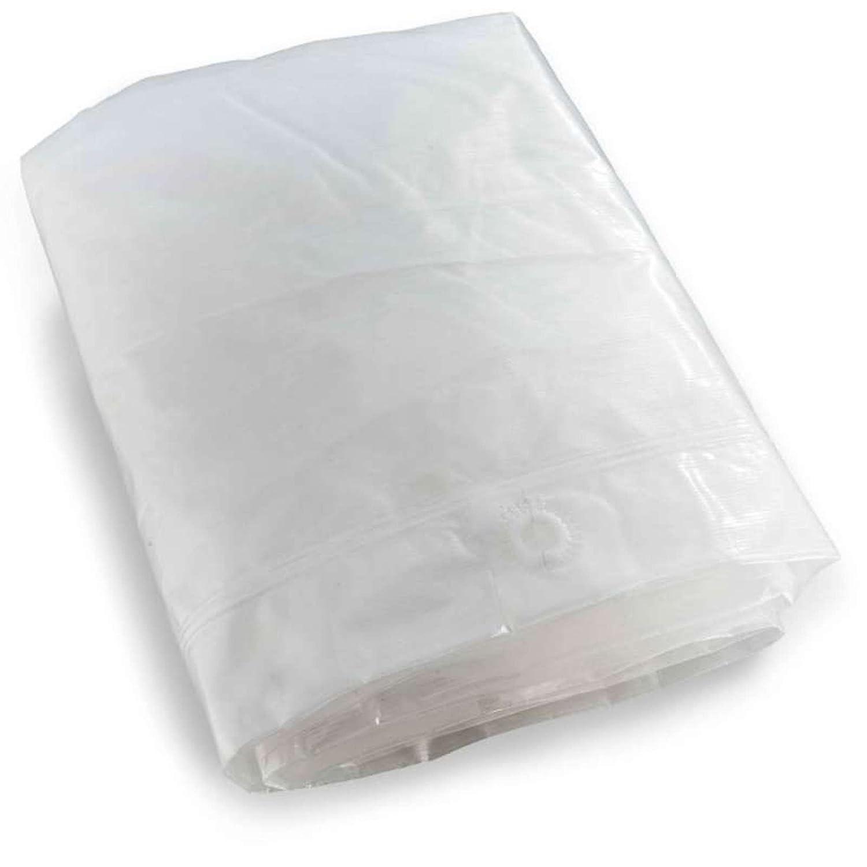 Ribiland 07359 Housse pour Tondeuse Transparent 63 X 56 X 114 cm