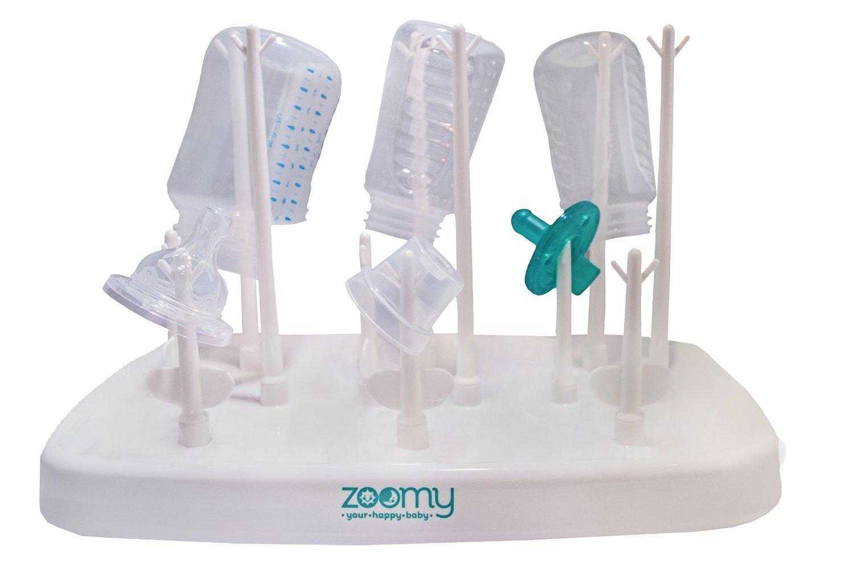 Amazon.com: Bebé Botella rack kit de secado por Zoomy bebé ...