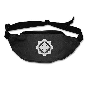 Gears Of War Locust Symbol Logo Waist Pack Unisex Black Amazon