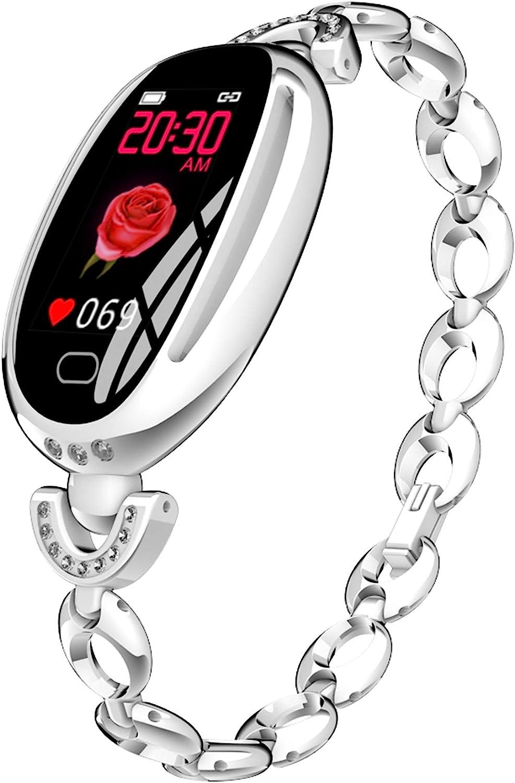 Smart Watches for Women Luxury Diamond Bracelet Heart Rate Pedometer Wristwatch Calorie Counter Blood Pressure Sport Watch Fitness Tracker