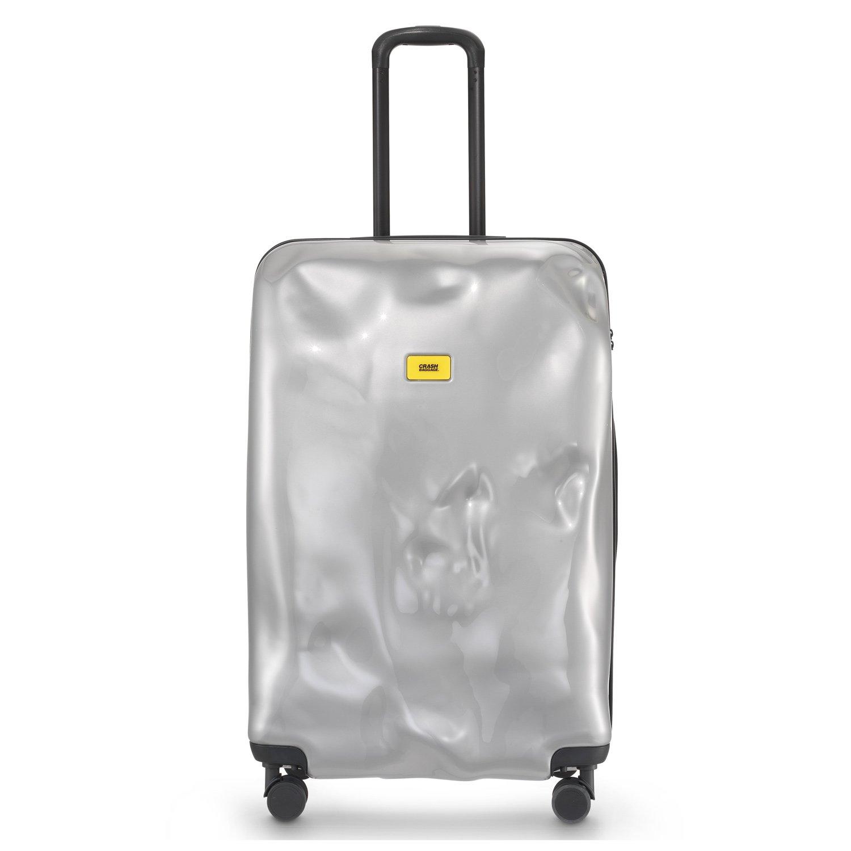 CRASH BAGGAGE(クラッシュバゲージ)5年保証付き 100L スーツケース トランク BRIGHT [ 4カラー ] 1週間~長期滞在用 クラッシュバゲッジ B01JCZA37SSilverMedal(21) 100L