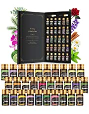 Essential Oils Set -Therapeutic Grade Essential Oils - 100% Natural Essential Oils-Perfect for Diffuser, Humidifier,Aromatherapy, Massage,Skin & Hair Care,30x5 ml(0.17fl.oz)