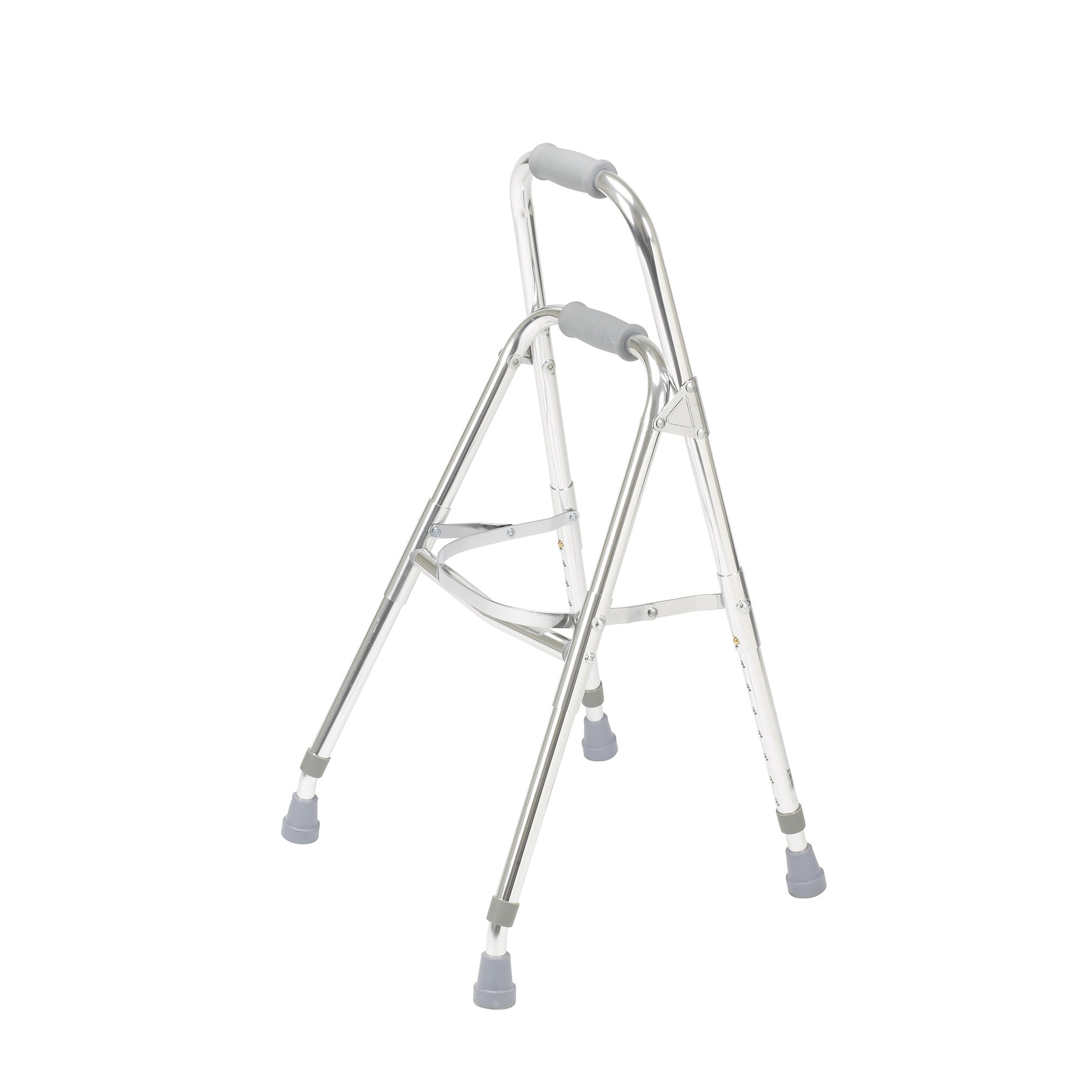 Drive Medical Side Style Hemi One Arm Walker, Chrome, Adult by Drive Medical