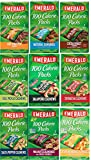 Emerald Nuts 100 Calorie Packs Variety Sampler of 63 bags 9 Different Flavors. Almonds, Cashews, Walnuts. Bundle of 9 Boxes, 7 in each box.