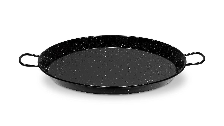 Paellera esmaltada induccion/vitro LA VALENCIANA Hecha en ESPAÑA varios tamaños (Ø32cm 5 raciones)