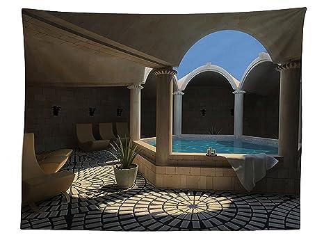Vasca Da Bagno Per Hotel : Vipsung house decor tovaglia dentro vista di una spa hotel con