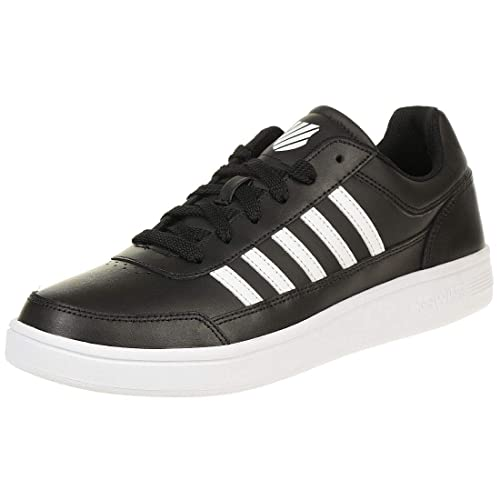 Details zu K SWISS Court Chasseur Schuhe Herren Sneaker weiss 06042 154 M