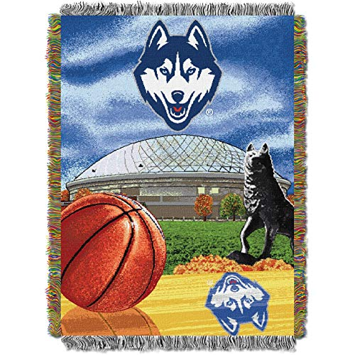 Northwest Connecticut Huskies Acrylic Tapestry Decorative Throw 48x60 ()