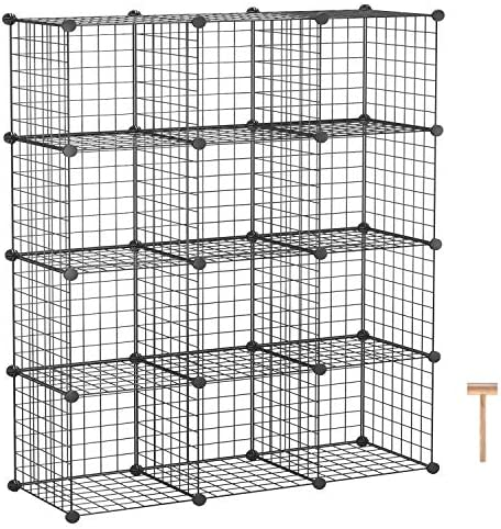 AHOME Storage 12 Cube Shelving Bookcase product image