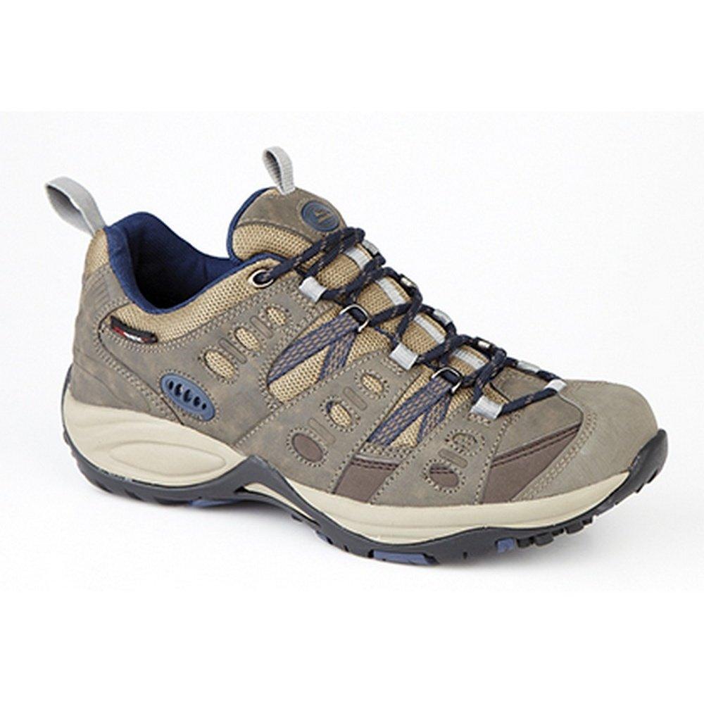 Johnscliffe Boys Approach Trekking Shoes (7 US) (Brown/Navy Blue)
