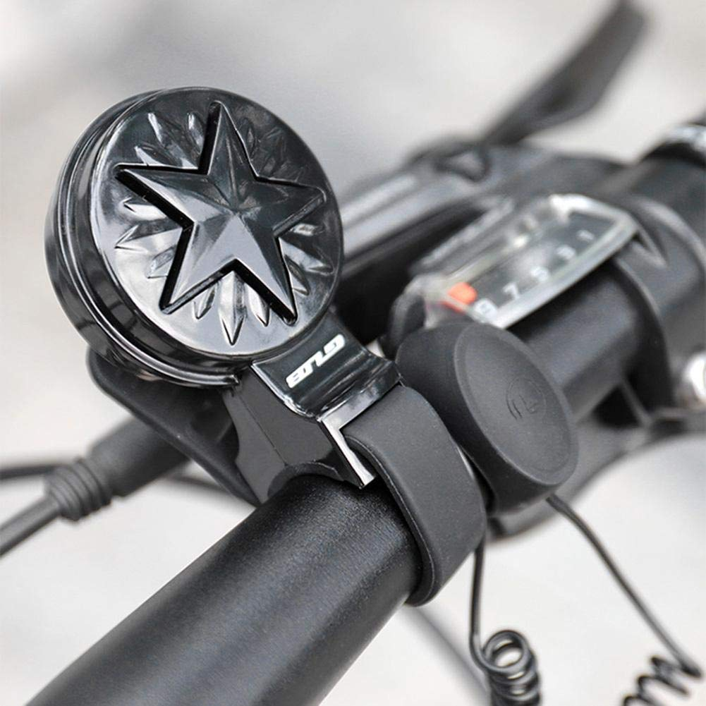 Cloche /électrique de Bicyclette de klaxon USB Rechargeable imperm/éable et /à Faible Bruit Bell pour Le Scooter de v/élo de v/élo de Montagne