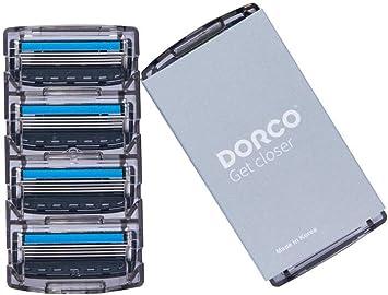 Maquinilla de afeitar Dorco Pace 4 Pro para hombres (8 unidades ...