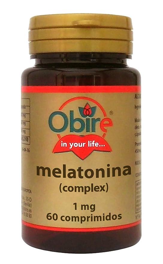 Melatonina 1 mg. complex 60 comprimidos con pasiflora, amapola californiana,melisa, tila y valeriana (Pack 3 u.): Amazon.es: Salud y cuidado personal