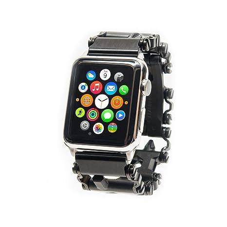 Amazon.com: ChronoLinks Leatherman Tread Watch Adapter - Stainless Steel (Apple 42mm): Home Improvement