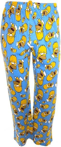 The Simpsons Pantalon De Pijama Para Hombre Multicolor Small Amazon Es Ropa Y Accesorios
