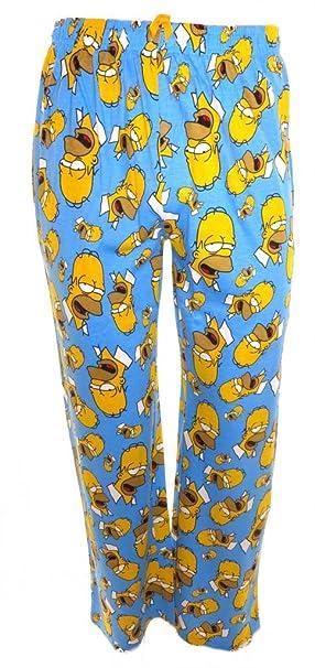The Simpsons - Pantalón de pijama - para hombre multicolor Small