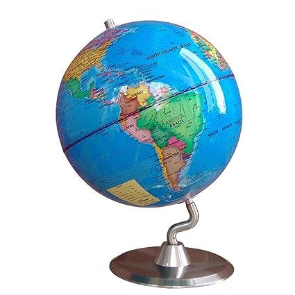 XOXO Alta tecnología Mapa Mundial del Globo terráqueo Geografía Maestro Ayuda Bola Juguete Regalo 22.8cm