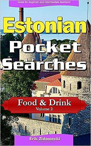 Amazon.com: Estonian Pocket Searches - Food & Drink - Volume ...
